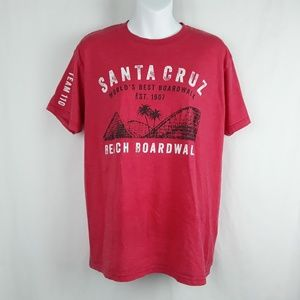 Spectra Shirts - Santa Cruz Beach Boardwalk California T-Shirt
